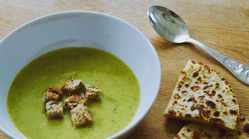 brokkoli suppe lompetoast