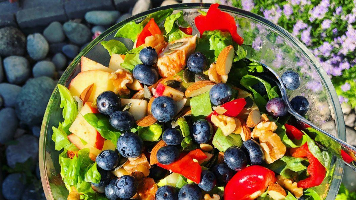 barnevennlig salat
