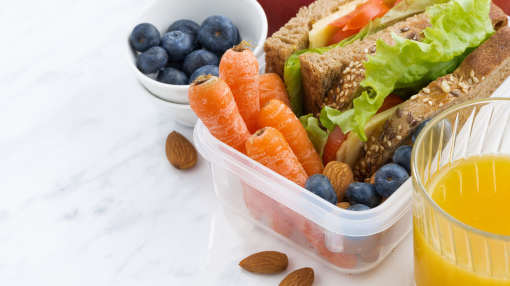sunne matpakker barn